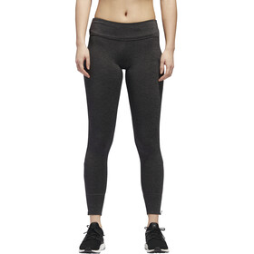 adidas Response Heather Running Tights Women Black/Carbon